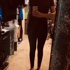 NWT FOREVER 21 CHARCOAL GRAY STRETCHY PANTS 💥🖤